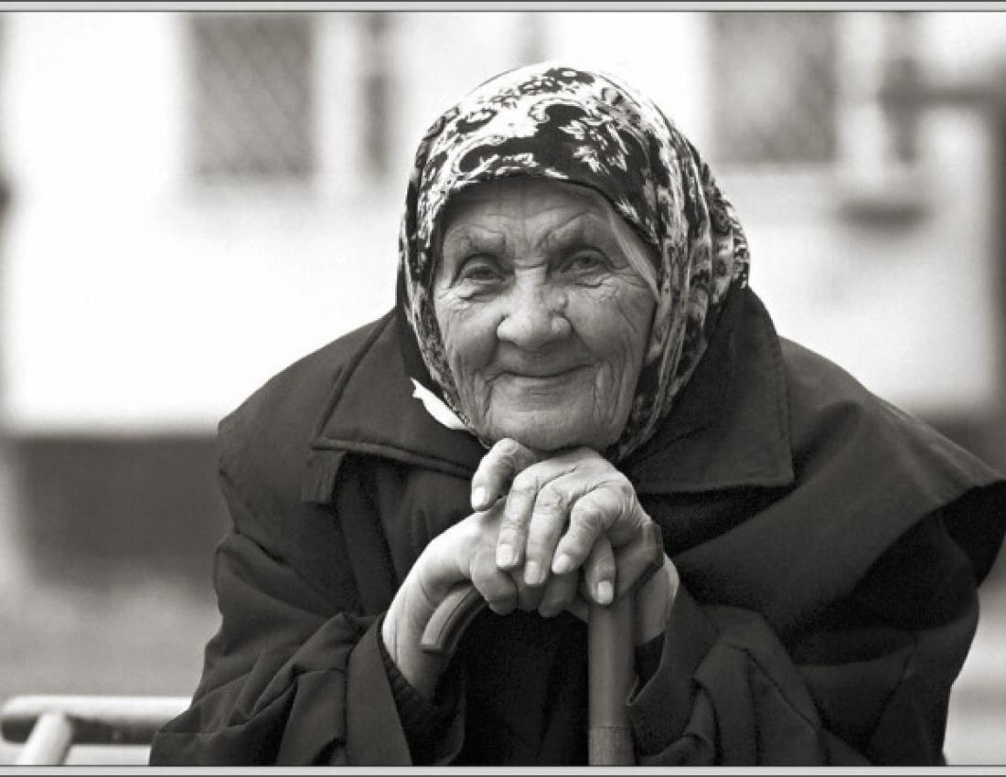 фото сисек старых бабушек