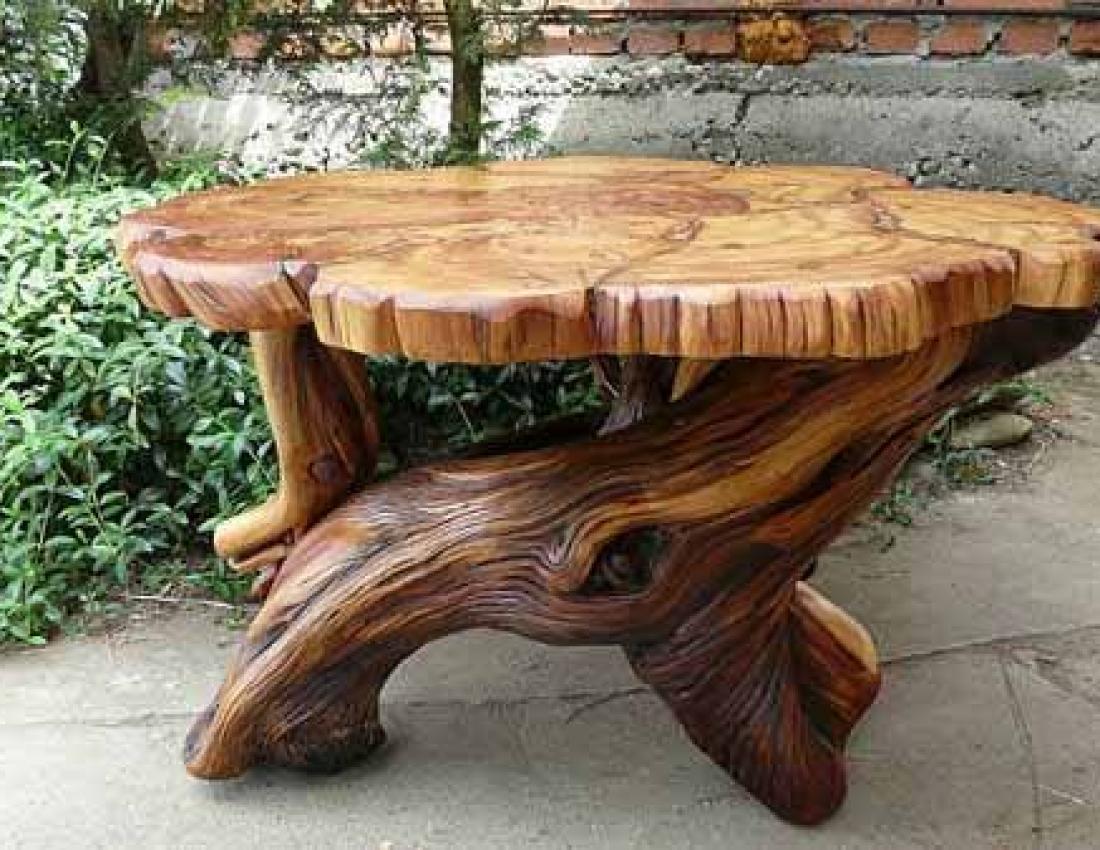 Дизайн из дерева своими руками